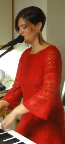 Katie At Piano Singing